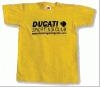 DSC T-Shirt in red, black or yellow